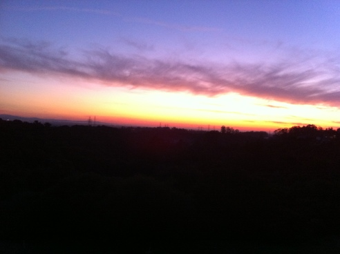 Sky on Fire: Sunset
